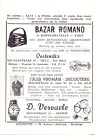 Pub Reclame - Ciné Cinema Bioscoop - Alfa Pittem - Foto Photo June Thorburn - Publicité Cinématographique