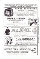 Pub Reclame - Ciné Cinema Bioscoop - Kursaal Turnhout - Foto Photo Star Vedette Robert Wagner - Publicité Cinématographique