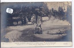 AUTOMOBILE- COUPE GORDON BENNETT 1905- CIRCUIT MICHELIN- CAGNO SUR FIAT- 3 EME - Rally Racing