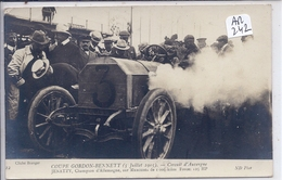 AUTOMOBILE- COUPE GORDON BENNETT 1905- CIRCUIT MICHELIN- JENATZY- MERCEDES- CHAMION D ALLEMAGNE - Rally Racing