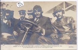AUTOMOBILE- COUPE GORDON BENNETT 1905- CIRCUIT MICHELIN- THIERY ET SON MECANICIEN MULLER - Rally's