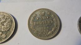 Russia 1909  Nicholas 2 20 Kop Silver - Russia