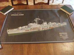 Plan Aviso Escorteur Commandant Rivière - Barcos