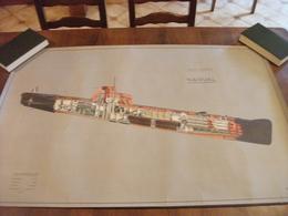 Plan Sous Marin Type Narval - Schiffe