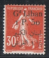 GRAND LIBAN N°28 N* - Great Lebanon (1924-1945)