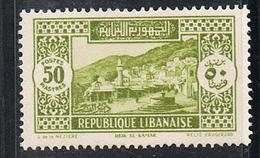 GRAND LIBAN N°147 N* - Great Lebanon (1924-1945)