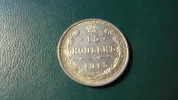 Russia 1915 15  Kop Silver - Russia