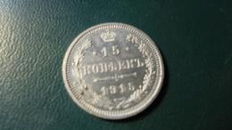 Russia 1915 15  Kop Silver - Russie