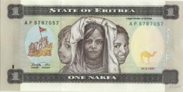 Erythrée 1 Nakfa (P1) 1997 (Pref: AP) -UNC- - Erythrée