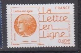2012-N°4687**LA LETTRE EN LIGNE - Unused Stamps