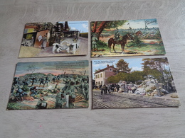 Beau Lot De 20 Cartes Postales Guerre 1914 - 1918  Armée  Soldat Allemand - Oorlog Leger Duitse ( Deutsche ) Soldaten - Cartes Postales