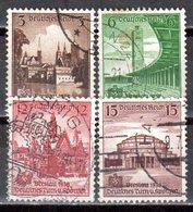 Deutsches Reich 1938 Mi. 665-668 Gestempelt (pü2920) - Alemania