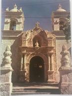 (630) Peru - Arequipa - The Church Of Cayma - 17th Century - Twee Klokkentorens. - Pérou