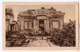 As190 Cambodge Indochine ANGKOR VAT Edicules Partie Occidentale Cour 2eme Etage 1920s Indo-Chine Cambodia CRESPIN 106 - Cambodge