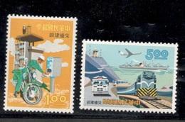 TAIWAN1967:Michel 622-3 Mnh** - 1945-... République De Chine