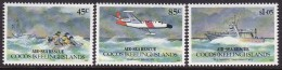 Cocos Keeling Islands 1993 Air-Sea Rescue Sc 283-85 Mint Never Hinged - Kokosinseln (Keeling Islands)