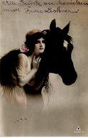 Frau Mit Pferd 1913 - Paare