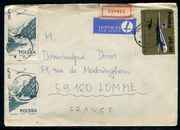 Pologne - Enveloppe En Exprès De Chojnice Pour La France En 1979 - Réf AT 152 - 1944-.... Republic
