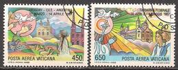 Vatikan  (1988)  Mi.Nr.  952 + 953  Gest. / Used  (9fc01) - Vatican