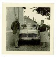 Photo 90 X 90 Mm - Juin 1960 - Tonneins - Simca Beaulieu - Automobiles