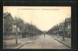 CPA Franconville, Boulevard De La Mairie - Franconville