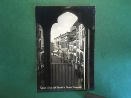 Cartolina Treviso - Corso Del Popolo E Teatro Comunale - 1951 - Treviso