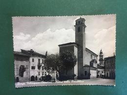 Cartolina Borgo Valsugana - Trentino - Piazza Della Repubblica - 1972 - Trento