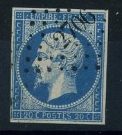 N 14A Ob PC2706 - Variété : Point Blanc Au E De Poste - 1853-1860 Napoleon III