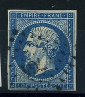N 14A Ob PC764 - Variété : Point Blanc Au E De Poste - 1853-1860 Napoleon III