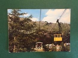Cartolina Chiesa Valmalenco - Funivia Del Lago Ali - Stazione Alpe - 1966 - Trento