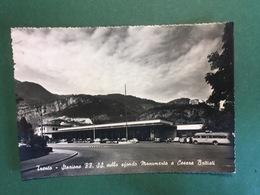 Cartolina Trento - Stazione FF. SS. Sfondo Monumento A Cesare Battisti - 1964 - Trento