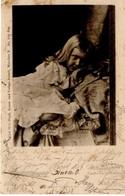Kind Im Bett 1899 - Fotografie