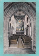 Small Old Postcard Of Inside Waltham Abbey,Essex,V112 - England