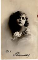 Zum Namenstage Kinderporträt 1919 - Feiern & Feste