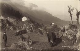 Cp Kanton Wallis, Au Paturage, Getroz - VS Wallis