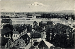 Cp Bâle Basel Stadt Schweiz, Albantal, Teilansicht Der Stadt - BS Basel-Stadt