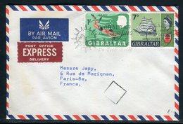 Gibraltar - Enveloppe En Exprès Pour La France En 1967 - Réf AT 163 - Gibraltar