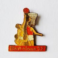 Pin's Basketball BARCELONA 92 - SPORT - Basketball