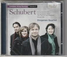 Cd     SCHUBERT Diogenes Quartet    Etat: TTB Port 110 GR - Klassik