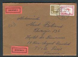 Danemark - Enveloppe En Exprès De Copenhague Pour La France En 1981 - Réf AT 164 - Cartas