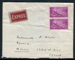 Espagne - Enveloppe En Exprès De Playa De Aro Pour La France En 1962 - Réf AT 165 - 1961-70 Briefe U. Dokumente