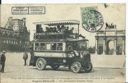 PARIS - Autobus Eugène BRILLE - Transport Urbain En Surface
