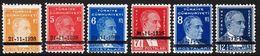 1938. 21-11-1938. Complete Set With 6 Stamps. (Michel 1041-1046) - JF303702 - Ungebraucht