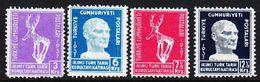 1937. History Kongress 4 Ex. (Michel 1010 - 1013) - JF303704 - 1921-... República