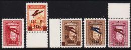 1924. Mustafa Kemal Pascha. 50 PIASTRES (Michel 980 - 984) - JF303705 - Nuevos