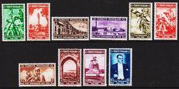 1938. Int. Munstermesse  10 Ex. (Michel 1019 - 1028) - JF303709 - 1921-... Republiek