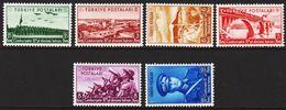 1938. Republik. 6 Ex. (Michel 1029 - 1034) - JF303712 - 1921-... República
