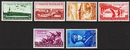 1938. Republik. 6 Ex. (Michel 1029 - 1034) - JF303712 - Nuevos