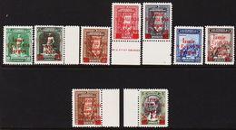 1934. Smyrna Messe. 9 Ex. Izmir 9 Eylul 934 Sergisi. (Michel 971 - 979) - JF303713 - 1921-... República