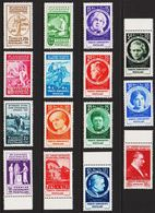 1935. XIIme CONGRES SUFFRAGISTE INTERNATIONAL ISTANBUL 1935. Complete Set With 15 Sta... (Michel 985-999) - JF303714 - Ungebraucht